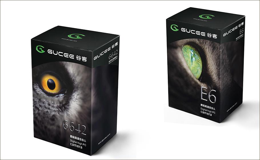 谷客攝像頭-眼睛系列包裝設計