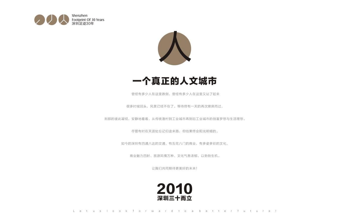 深圳足跡30年